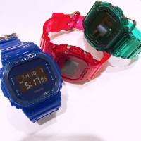 【G-SHOCK】Color Skeleton Series