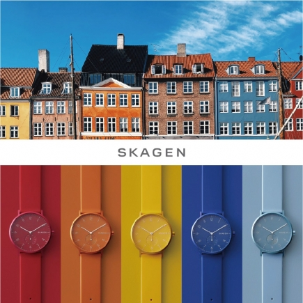 "【SKAGEN】""AAREN KULØR COLLECTION""先行発売!"