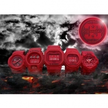 【G-SHOCK】35周年記念モデル第3弾「RED OUT」登場!