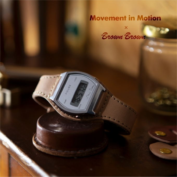 【Movement In Motion+Brown Brown】コラボ第2弾が登場